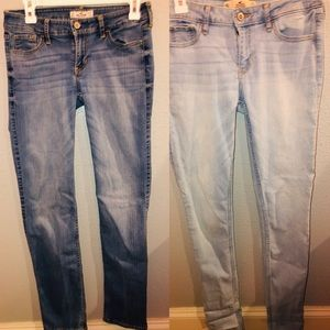 Hollister jeans size 5.